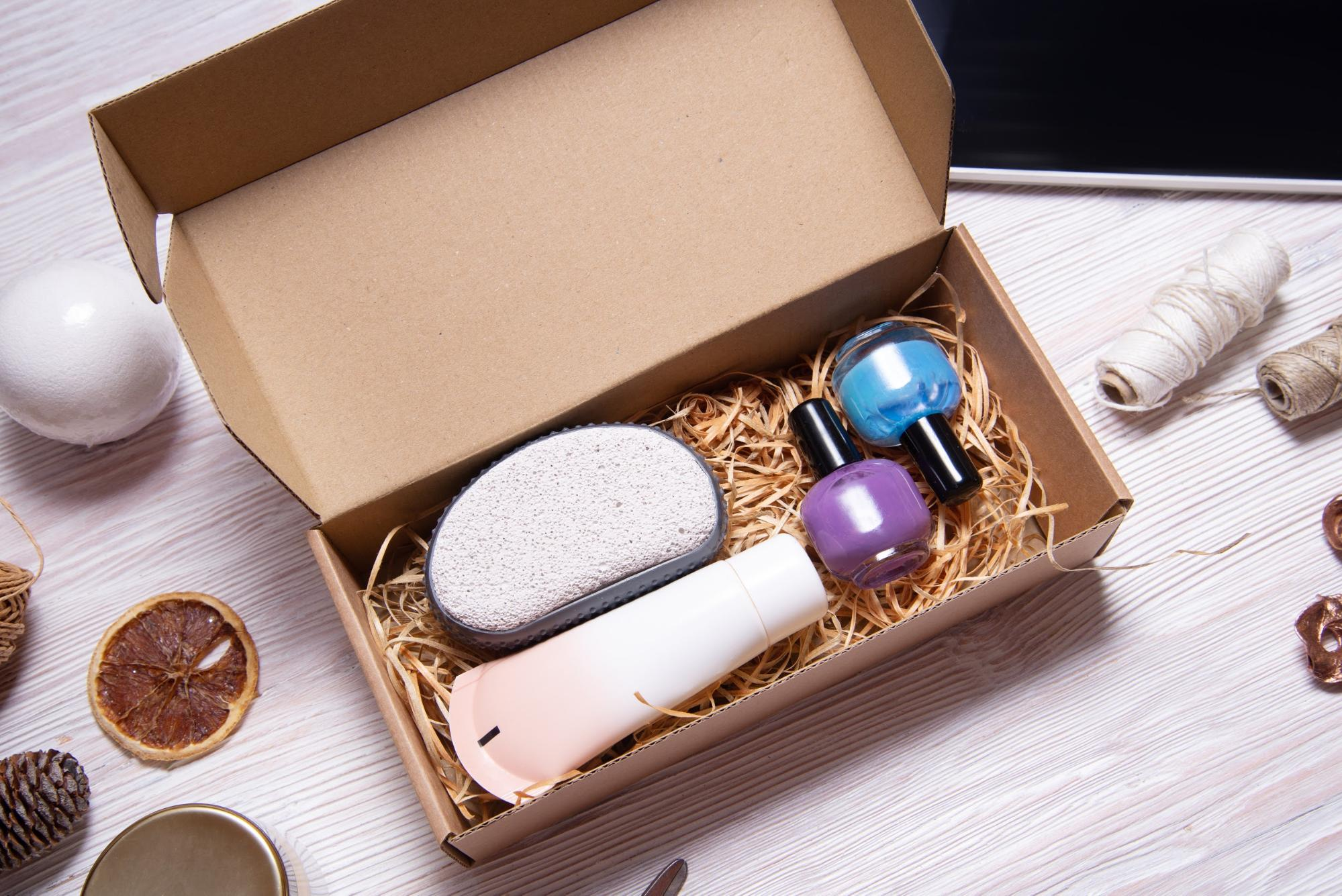 Presentation and packaging matters when selling subscription boxes.